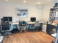 Desk Space(s) Parsons Green Fulham with Parking