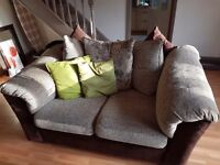 2 x 2 seater settee's. Good condition. From smoke free home.