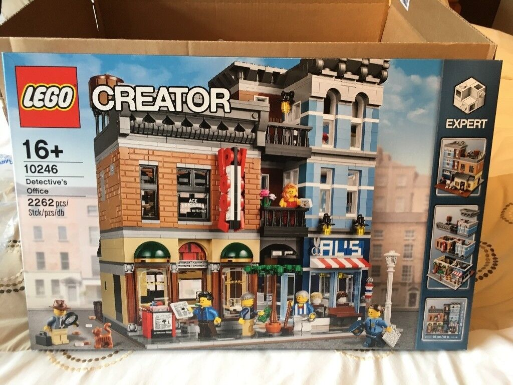 LEGO Detective's Office 10246, Creator Expert - Brand New Factory Sealed Box