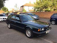 1995 CLASSIC BMW E34 - 520i TOURING ESTATE - 1 YEAR MOT