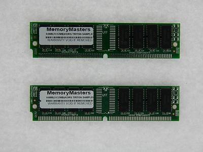 64MB (2x32MB) MEMORY RAN 4 KORG TRITON LE, TR, PRO, PROX CLASSIC SAMPLER