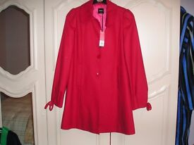 New with Tags from Oasis size X S Red Coat