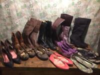 Ladies shoes and boots