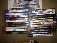 PS3 with 10 plus games time crisis w gun