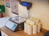 Commercial Label Printing Weighing Scales