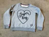 Superdry blue Sweat shirt - brand new never worn
