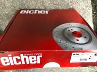 Citroen C2 1.4 Litres Eicher Front Brake Pads Set Lucas Braking System