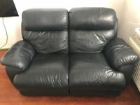 FREE black sofa - collection only