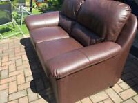 Excellent leather sofa