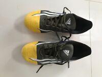 Boys Adidas Messi size 5 football boots