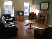 Two bedroom flat available to rent in Stirling city centre.