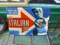 THE ITALIAN JOB CANVAS PICTURE/POSTER