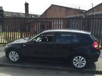 BMW 1 SERIES WANTED,ANY YEAR,ANY COLOUR AND LOW MILEAGE PLS