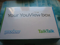 brand new talktalk youview box never used