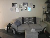 Sofa& foot stool BARGAIN
