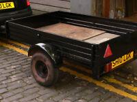 Car trailer, all metal 1700 X 1100