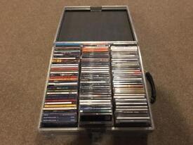 DJ Flight Case full of CDs
