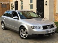 2003 AUDI A4 1.9 TDI SE ESTATE MANUAL VERY CLEAN IN AND OUT