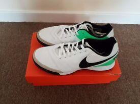 NEW Nike Tiempo Genio Leather Mens Astro Turf Trainers Size 10 UK (EURO 44)