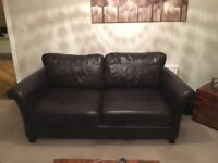 Leather 2 & 3 Seater Sofas