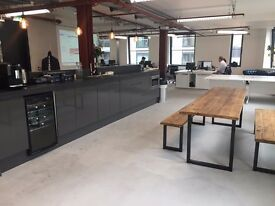 Creative Desk Space for rent - Old Street - New tech hub of London