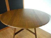 Ercol drop leaf dinning table model 377