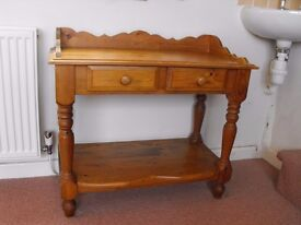 Victorian-style side table