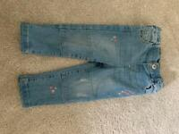9-12 months girl jeans
