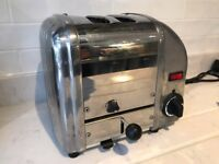 Dualit Classic Vario 2 slice toaster. Good condition