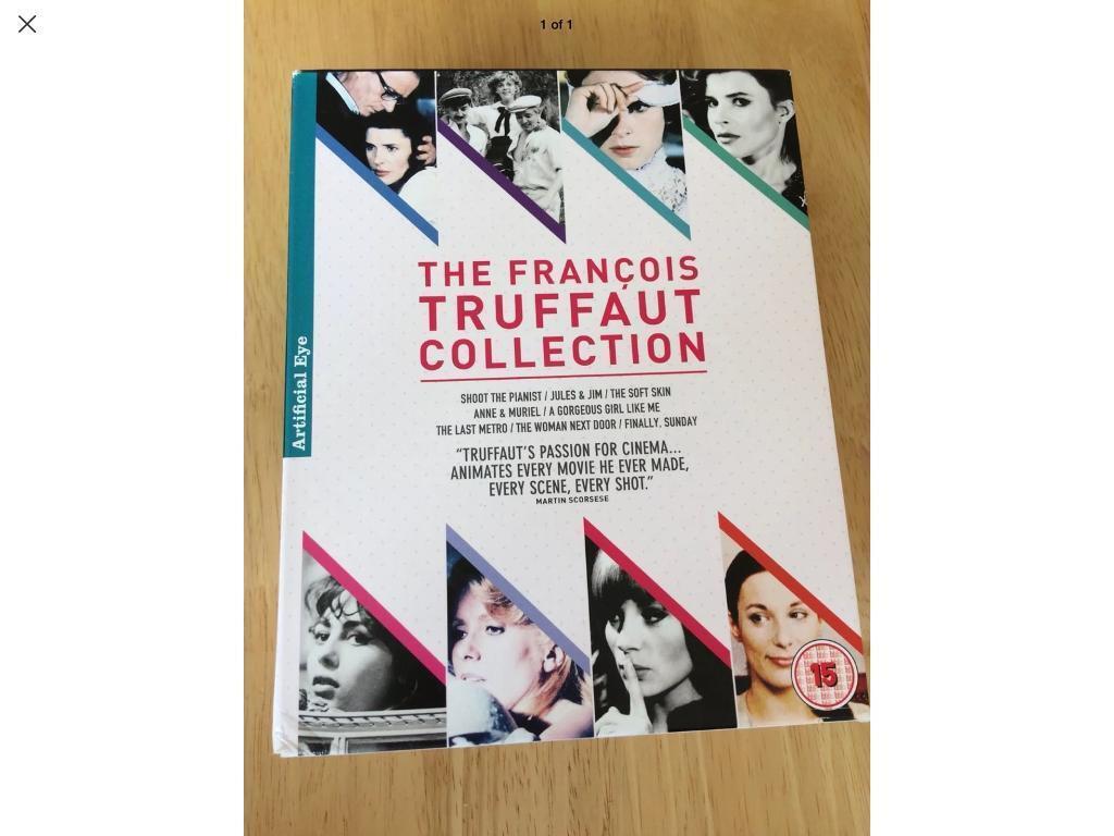 The Francois Truffaut Collection Blu Ray Box Set | in Lossiemouth ...