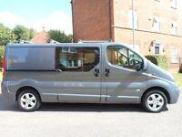 FINANCE ME!! NO VAT!! Beautiful one owner low millage 65k, 6 seat crew van, full service history!