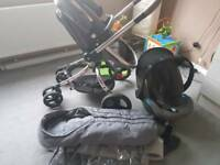 Pushchair mathercare 3in 1