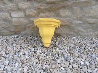 Yellow Cast Iron Hopper