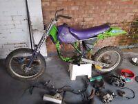 Kawasaki kx100 project Spares repairs