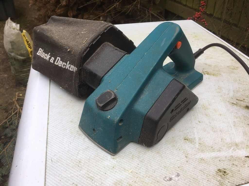 Black Decker Electric Planer In Lutterworth Leicestershire What Does An Do