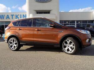 2017 Ford Escape Titanium AWD Titanium 4X4 Ecoboost Fully Loaded