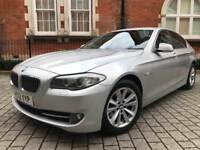 2012 BMW 5 Series 2.0 520d SE AUTO ** 1 OWNER ** FULL BMW HISTORY** PX WELCOME not 525d 530d