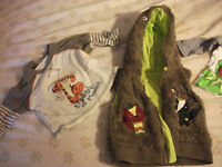 Big bargain!!! 2 huge plastic bags with around 200 baby boy clothers