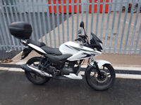 Honda CBF125 (63) with Givi top box. Low mileage.