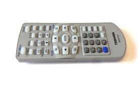 Toshiba MEDR16UX Remote Control for SDKP19, SDKP19S Portable DVD Players