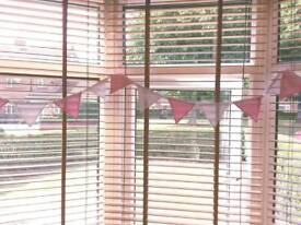 Pink and White Baby Shower Bunting