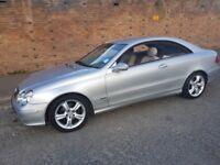 Mercedes Avantgarde CLK 200 Kompressor Cheap Low Mileage Not BMW Lexus Audi Quick Sale