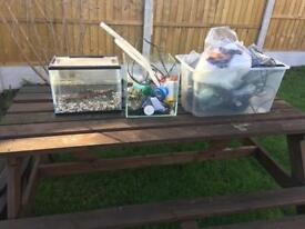 Fish tank stuff for sale