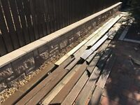USED DECKING BOARDS - FREE