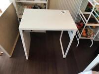 White 'Micke' IKEA Desk