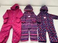 Jojo Maman Bebe Snowsuits 3-6 months