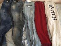 Joblot designer clothes.