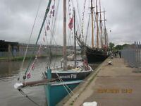 Boat (with possible Bristol harbour mooring) for sale
