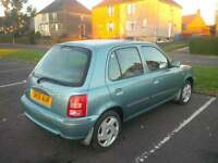 Nissan Micra Boston 1.0 in blue 25000 miles only Full Service Nice and Clean wee car