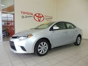 2014 Toyota Corolla * LE * GR ELECT * A/C * CAMERA DE RECUL  *